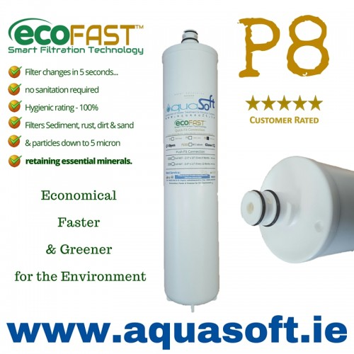 EcoFAST™ P8 Quick-Connect | 5 Micron Sediment Filter