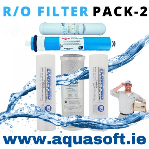 5 Stage Reverse Osmosis Filter - Pack 2