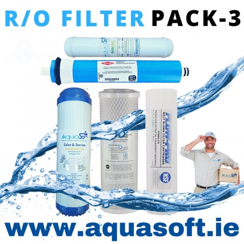 5 Stage Reverse Osmosis Filter - Pack 3