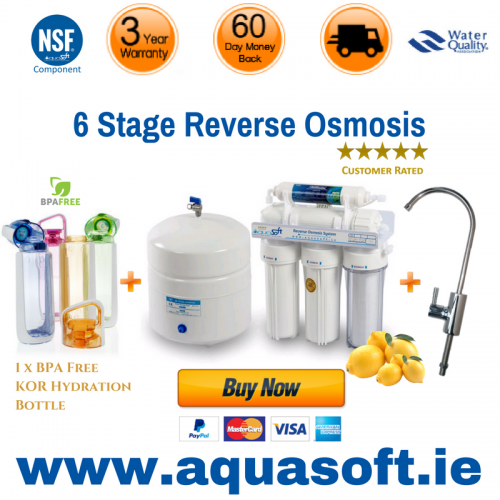 Reverse Osmosis 6 stage Re-Mineral Filtration System®