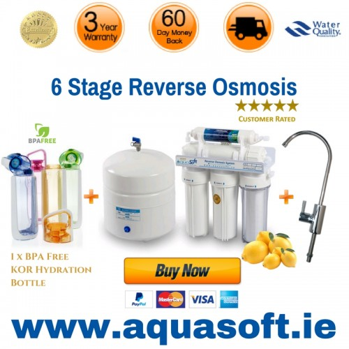 Reverse Osmosis 6 stage Re-Mineral Filtration System