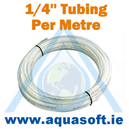 John Guest® 1/4'' White Tubing Per Metre