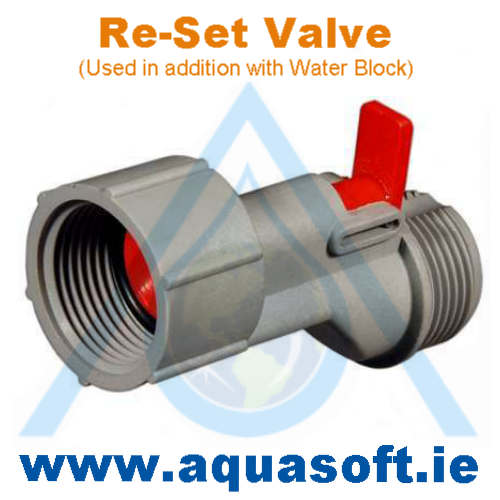 Re-Set Valve - To be added to Water Block